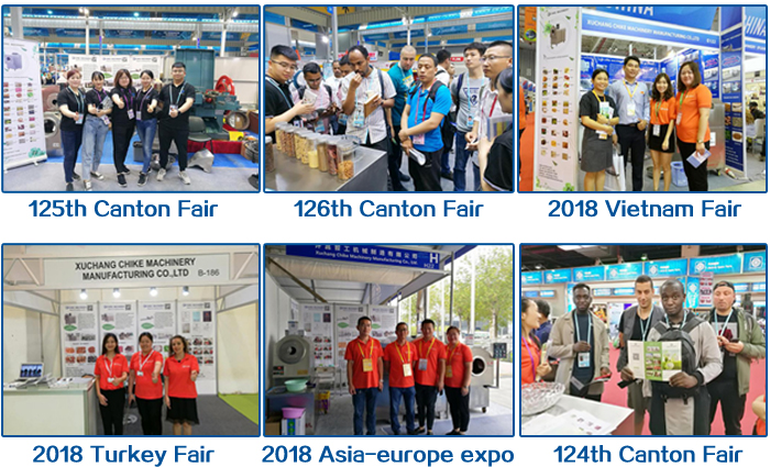 Our Customer and exhibition